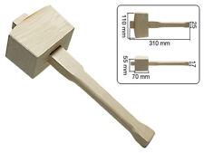 Schreinerklüpfel eckig 310mm aus Holz Klopholz Holzklüpfel Holzhammer Klüpfel