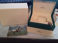 Genuine Rolex Box, Tag & Book Submariner, Daytona, GMT Master, Air King 39139.64