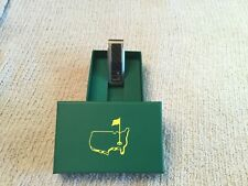 2019 MASTERS Money Clip Stainless Carbon Brand New Never Used