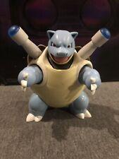 Nintendo 2007 Pokémon Blastoise Talking Light Up Figure Set *Used*
