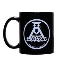 ICH LAUF AUF KOKS Kaffee-POTT | für Links- und Rechtshänder!