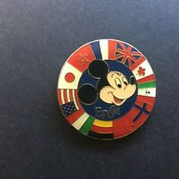 Epcot - Mickey Mouse with Circle of Country Flags 2000 Disney Pin 521