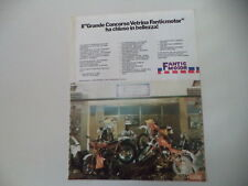 advertising Pubblicità 1980 MOTO FANTIC TRIAL 200