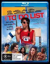 The To Do List  Blu-Ray Region B
