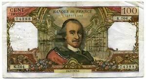 100 francs CORNEILLE   K 704