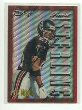 1996 Finest Refractor Bronze #301 Eric Metcalf Atlanta Falcons