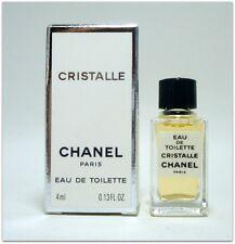 CHANEL Cristalle Eau de toilette 4 ml. 0.13 fl.oz. New with box. Mini perfume