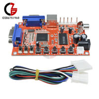 DC 5V VGA to CGA/CVBS/S-Video HD Arcade Video Game Converter Board GBS-8100