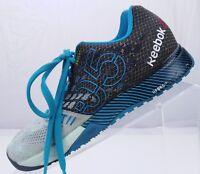 Reebok CrossFit Nano 5.0 Running Breeze Black Training Sneakers Womens Sz 6.5