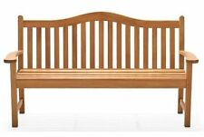 5 FEET OUTDOOR INDOOR TEAK WOOD BENCH PATIO FURNITURE GARDEN -TERRA DECK DINING