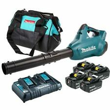 Makita DUB362PT4 36V Brushless with 4 x 5.0Ah Li-ion Cordless Turbo Blower Combo