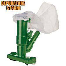 Depuratore per Stagni Stagno Vasche Idromassaggi 26x8x31 Cleaner Sporco Polvere