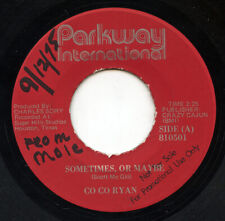 Hear- Rare Rock / Pop 45- Co Co Ryan- Sometimes, Or Maybe- Parkway #810501-Promo