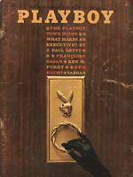 PLAYBOY MAY 1962 Door Knocker cover Marya Carter Cynthia Maddox Bare Maidens (6)