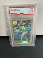 Mark Mcgwire 1987 Topps Rookie Card PSA 9 Hot Card