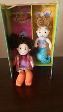 Groovy Girl Dolls-Mermaid Girl & Cool Girl & Wardrobe Case/Carrier - Pre-Owned