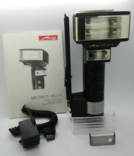 Metz Mecablitz 45 CL-4 Handle Mount Flash w/ SCA 321 for Olympus