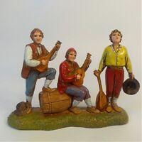 Gruppo musicanti Moranduzzo Landi 6 cm | Presepe Personaggi Statuine