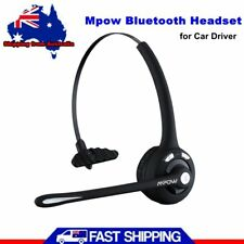 Mpow Pro Bluetooth Headset For Car/Truck Driver Wireless Headphones With Mic