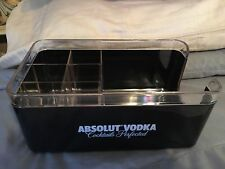 Absolut Napkin And Drink Stirrer Caddy.     New Unused