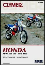 CLYMER SERVICE REPAIR MANUAL HONDA XL600R 1983-1987, XR600R 1985-1990 XR R XL