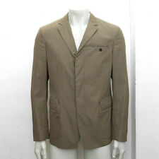 NEW Mens Prada Khaki Viscose & Cottton Blend Blazer Jacket Size 48R BNWT RRP£605