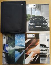 Genuine BMW serie 1 E81 E87 Manuale Proprietari Manuale Wallet 2007-2011 CONF. B-734