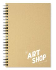 The Art Shop Skipton Cartridge Paper Kraft Cover Sketchbook A4 (40 Sheets)