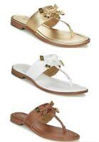 Women MK Michael Kors Ripley Thong Flat Slip On Sandals