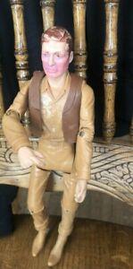 Vtgf Louis Marx & Co Johnny West  Cowboy Action Figure