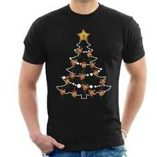 Jeremy Corbyn Christmas Tree Baubles Men's T-Shirt