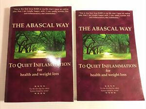 The Abascal Way Book with Cookbook 2 Volume Set TQI Diet Health Weight Loss PB