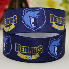 50yards 22mm Memphis Grizzlies sport team ball printed Grosgrain Ribbon party