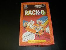 MILTON BRADLEY 1987 RACKO 100% COMPLETE BIG DEAL GAMES