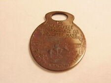 Paul Revere Life Insurance, Worcester, Mass.  member ID tag / fob