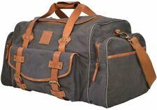 STS Ranchwear Grey Canvas Duffle Bag