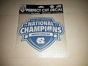 North Carolina Tar Heels 2017 National Championship Perfect Cut 8 x 8 Decal