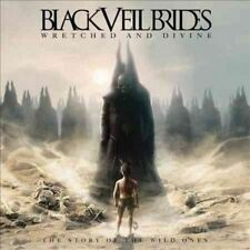 2x Black Veil Brides Albums Wretched and Divine & Set The World on Fire