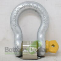 Titan Bow Type Anchor Shackle Hot Dip Galvanized with Screw Pin