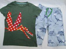 ❤ MINI BODEN boys pterodactyl shirt dinosaur shorts outfit cotton 11 12 FREESHIP