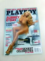 Playboy Magazine March 2009 Issue Aubrey O'Day Kenny Chesney Interview
