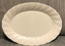 Sheffield Bone White Porcelain Fine China Made in Japan Oval Serving Plate