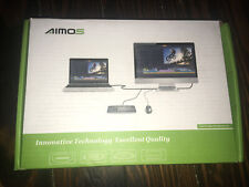 AIMOS HDMI KVM Switch, HUD 4K 2 Port Box, Share 2 Computers w/1 Keyboard & Mouse