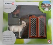 Schleich Mini-Playset Bauernhoftiere Ziege Huhn Zäune 21029 NEU OVP