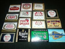Lot of Vintage Cold Spring Brewery, Minnesota Beer Bottle Labels