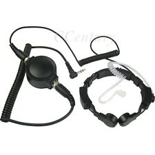 Big PTT Throat Microphone Headset for Motorola MD200TPR MR350R EM1000 R T200 260