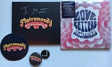 METRONOMY - LOVE LETTERS DELUXE + SUMMER 08 HAND SIGNED CD ALBUM AUTOGRAPHED