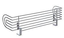Metall Herdschutzgitter 60 cm - Kinderschutzgitter Kinderschutz Herd Sicherung