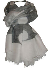 """""""NEW"""" TRANSAT BOUTIQUE CHECHE ECHARPE FOULARD PAREO """"SUSY MIX"""" POIS TAUPE"""