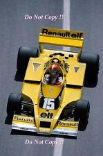 Jean-Pierre JABOUILLE RENAULT RS01 Monaco Grand Prix 1978 Fotografia 2